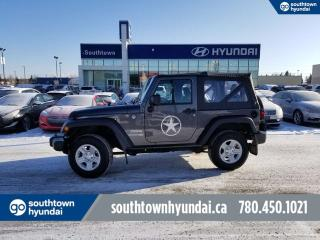 Used 2018 Jeep Wrangler SPORT 4WD/SOFT TOP/LOW KMS for sale in Edmonton, AB