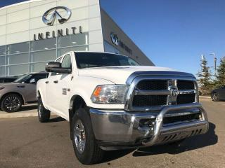 Used 2015 RAM 3500 ST 4X4 CREW CAB 149.5, ACCIDENT FREE, CRUISE CONTROL, TOW/HAUL MODE, SIRIUS XM CAPABILITY for sale in Edmonton, AB