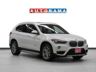 Used 2017 BMW X1 xDrive28i Nav Leather Panoramic Sunroof Backup Cam for sale in Toronto, ON