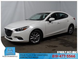 Used 2017 Mazda MAZDA3 GS|VOLANTCHAUF|SIEGCHAUF|BLUETOOTH| for sale in Drummondville, QC