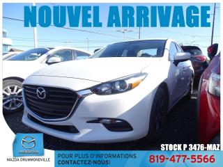 Used 2017 Mazda MAZDA3 GS|MAG SPORT|SIEGCHAUF|CAMERA|A/C| for sale in Drummondville, QC