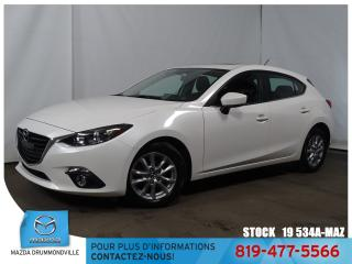 Used 2016 Mazda MAZDA3 Sport GS|TOITOUV!SIEGCHAUF|GPS|FOG|MAG| for sale in Drummondville, QC