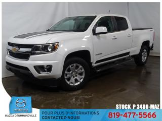 Used 2017 Chevrolet Colorado LT|4X4|CREW CAB|GPS|3.6L+MARCHEPIED| for sale in Drummondville, QC