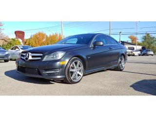 Used 2012 Mercedes-Benz C-Class Cpe *SPECIAL EDITION1* 84$/SEM for sale in St-Jérôme, QC