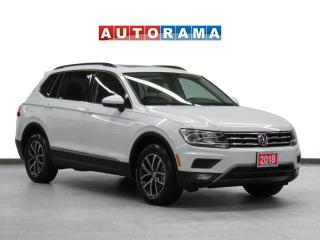 Used 2018 Volkswagen Tiguan 4WD Comfortline Navigation Leather PSunroof B-Cam for sale in Toronto, ON