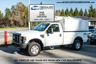 Used 2008 Ford F-350 XL Super Duty, V8, Local, Regular Cab Long Box! for sale in Surrey, BC