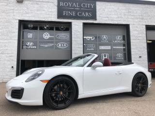 Used 2017 Porsche 911 Carrera Sport Chrono Sport Exhaust Loaded for sale in Guelph, ON
