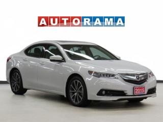 Used 2015 Acura TLX V6 Elite SH-AWD Nav Leather Sunroof Backup Cam for sale in Toronto, ON