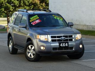 Used 2008 Ford Escape LIMITED,4WD,NAVIGATION,LEATHER,FULLY LOADED OPTION for sale in Mississauga, ON