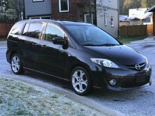 Used 2008 Mazda MAZDA5 GT,LEATHER,HEATED SEATS,SUNROOF,ALLOYS,NO-ACCIDENT for sale in Mississauga, ON