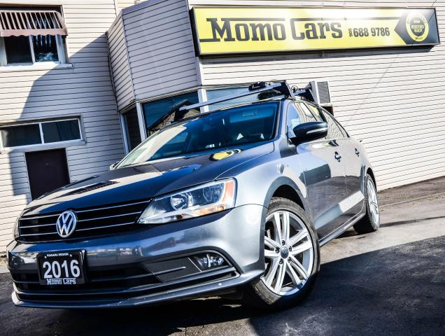2016 Volkswagen Jetta HIGHLINE! BACKUP CAMERA! BLUETOOTH! LOADED! TSI