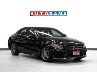 Used 2016 Mercedes-Benz C 300 AMG Pkg 4Matic Nav Leather Pano-Sunroof B-Cam for sale in Toronto, ON
