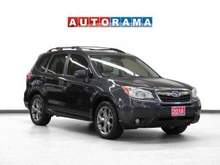 Used 2015 Subaru Forester 4WD Limited Navigation Leather Sunroof Backup Cam for sale in Toronto, ON