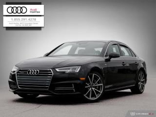 Used 2017 Audi A4 Technik for sale in Halifax, NS