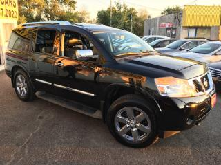Used 2010 Nissan Armada PLATINUM/ 7 SEATER/ NAVI/ CAM/ LEATHER/ ROOF! for sale in Scarborough, ON