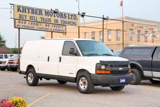 Used 2006 Chevrolet Express FALL SALES EVENT!!! WAS: $6,450 NOW $5,950 for sale in Brampton, ON