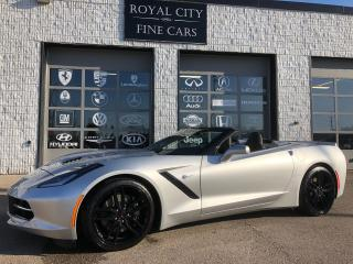 Used 2017 Chevrolet Corvette Z51 3LT Convertible Heads Up Display One Owner for sale in Guelph, ON