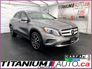 Used 2016 Mercedes-Benz GLA 4Matic+GPS+Camera+Pano Roof+Blind Spot+Xenon Light for sale in London, ON