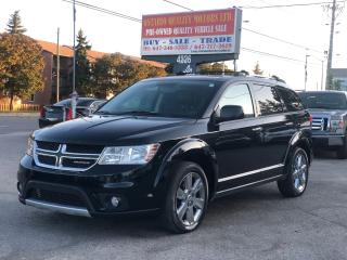 Used 2012 Dodge Journey R/T 7 passenger leather,sunroof !!! for sale in Toronto, ON