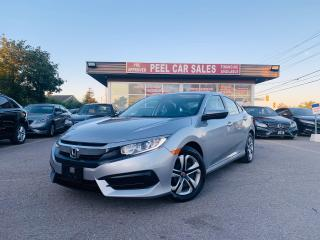 Used 2017 Honda Civic LX|REARVIEW|HEATEDSEATS|BLUETOOTH|CERTIFIED & MORE for sale in Mississauga, ON