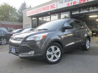 Used 2015 Ford Escape SE-BLUE-TOOTH-CAMERA-ALLOYS=HEATED for sale in Scarborough, ON