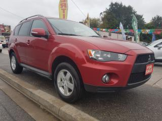 Used 2010 Mitsubishi Outlander LS-EXTRA CLEAN-4WD-BLUETOOTH-ALLOYS for sale in Scarborough, ON