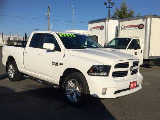 Used 2015 RAM 1500 Sport Quad Cab 5.7L Hemi for sale in Langley, BC