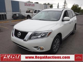 Used 2016 Nissan Pathfinder SL 4D Utility 4WD 3.5L for sale in Calgary, AB