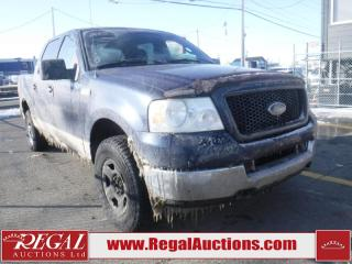 Used 2005 Ford F-150 XLT 4D SUPERCREW 4WD for sale in Calgary, AB