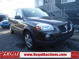 Used 2008 Pontiac Montana SV6 4D EXT Wagon FWD for sale in Calgary, AB