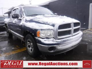 Used 2002 Dodge RAM 1500 ST QUAD CAB RWD for sale in Calgary, AB