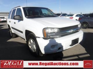 Used 2003 Chevrolet TrailBlazer 4D Utility 4WD for sale in Calgary, AB