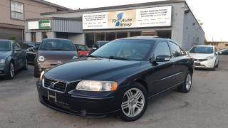 Used 2007 Volvo S60 AWD w/P-Moon for sale in Etobicoke, ON