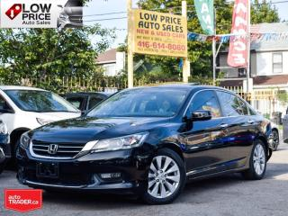 Used 2015 Honda Accord Sedan 4DR*Leather*Sunroof*Navi*Camera*HtdSeats*FullOpti* for sale in Toronto, ON