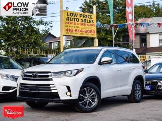 Used 2017 Toyota Highlander XLE*Navi*Leather*Sunroof*Camera*FullOpti* for sale in Toronto, ON