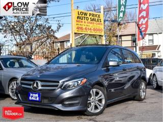 Used 2016 Mercedes-Benz B-Class 4MATIC*Panoramic*Navi*BlindSpot*Camera*FullOpti* for sale in Toronto, ON