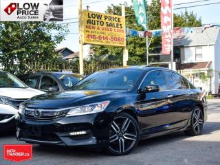 Used 2017 Honda Accord Sedan Sport*Sunroof*Leather*Camera*Alloys*ExtraClean* for sale in Toronto, ON