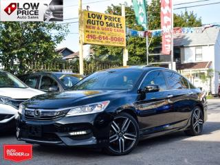 Used 2017 Honda Accord Sedan Sport*Sunroof*Leather*Camera*Alloys*ExtraClean* for sale in Toronto, ON