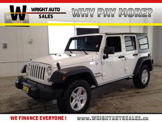 Used 2016 Jeep Wrangler Unlimited Sport|4X4|LOW MILEAGE|BLUETOOTH|30,979 KMS for sale in Cambridge, ON