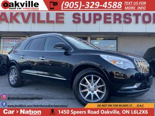 Used 2016 Buick Enclave LEATHER | PANO ROOF | NAVI | B/U CAM for sale in Oakville, ON