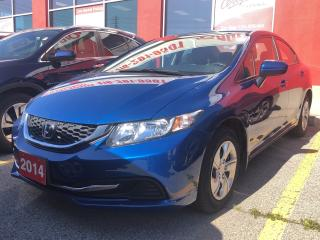 Used 2014 Honda Civic LX, 32,938 kilometres for sale in Toronto, ON