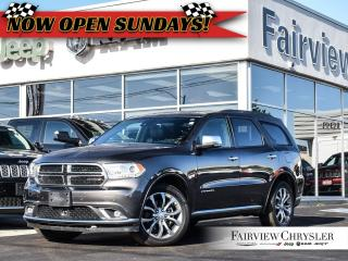 Used 2018 Dodge Durango Citadel l HEMI l DVD l TOW PKG l for sale in Burlington, ON