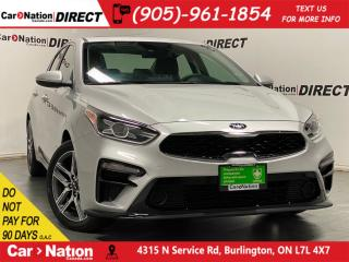 Used 2019 Kia Forte EX+| SUNROOF| BLIND SPOT DETECTION| for sale in Burlington, ON