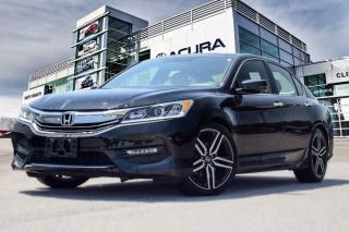 Used 2016 Honda Accord Sedan L4 Sport CVT No Accident| Remote Start for sale in Thornhill, ON