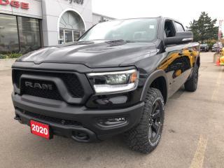 Used 2020 RAM 1500 Rebel Crew 4x4 V8 for sale in Hamilton, ON