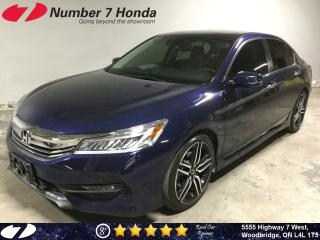 Used 2017 Honda Accord Touring| Loaded Options| Leather| Navi| for sale in Woodbridge, ON