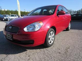 Used 2011 Hyundai Accent ONE OWNER / ACCIDENT FREE for sale in Newmarket, ON