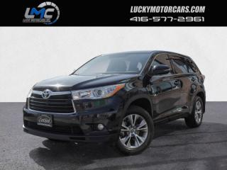 Used 2016 Toyota Highlander LE- 8 PASSENGER-BACKUP CAM-BLUETOOTH-NO ACCIDENTS for sale in Toronto, ON
