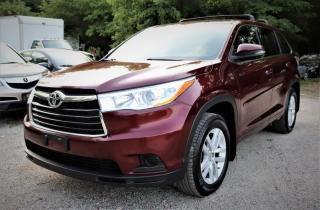 Used 2014 Toyota Highlander AWD 4dr LE for sale in Richmond Hill, ON