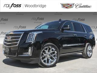 Used 2017 Cadillac Escalade PLATINUM, DVD, SUNROOF, NAV for sale in Woodbridge, ON